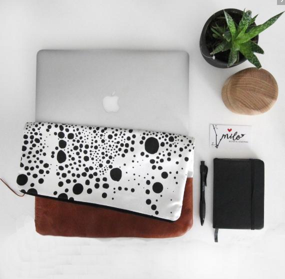 Love milo with laptop