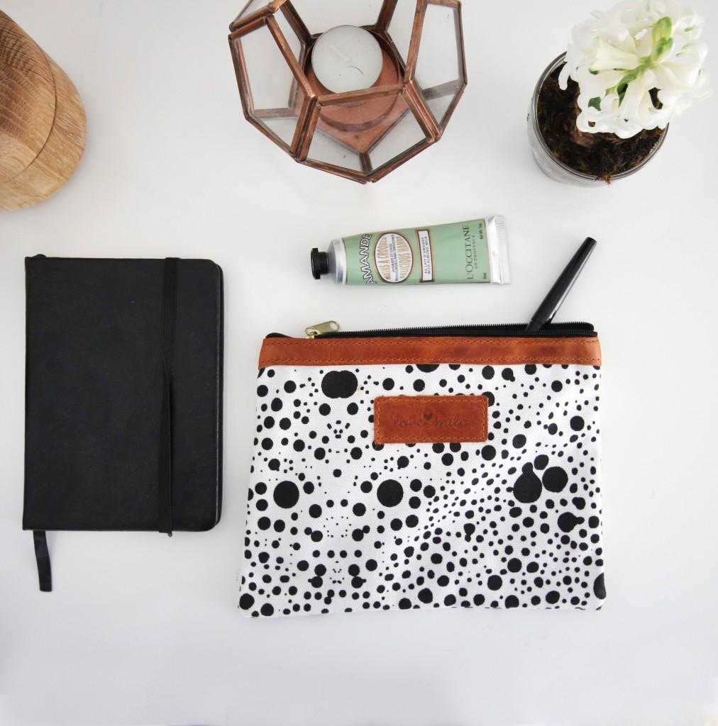 cosmos desk purse