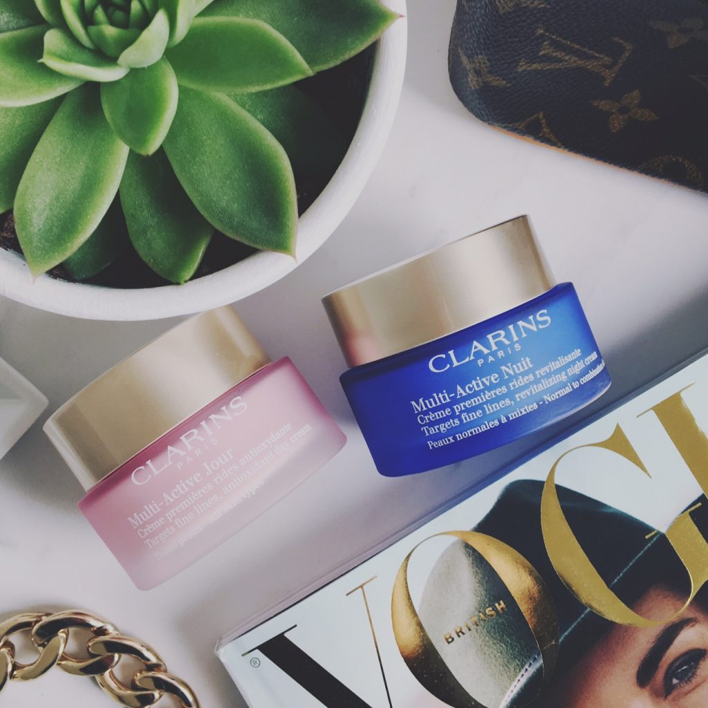 Clarins Multi-Active day & night