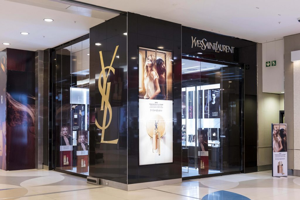 Ysl Beaut 201 Opens Its 1st Boutique On The African Continent