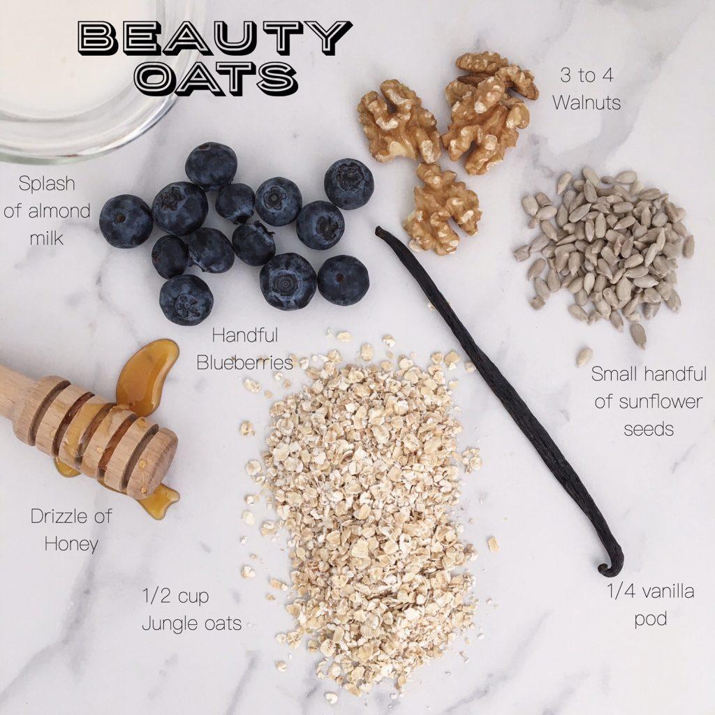 Beauty oats ing