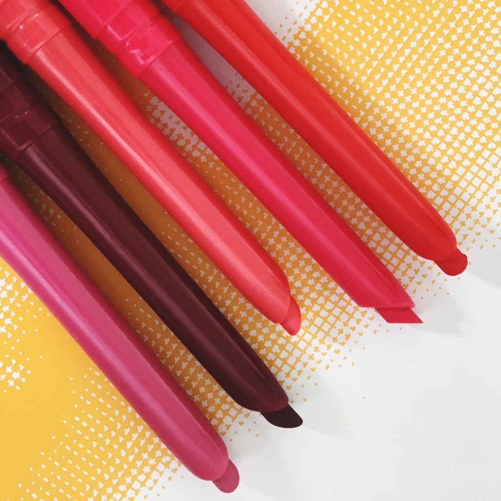 Rimmel Exaggerate Lip Liners