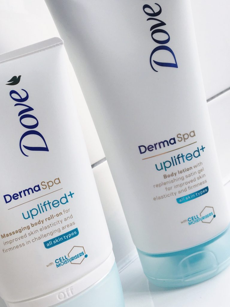 DermaSpa uplifted body lotion & roll-on