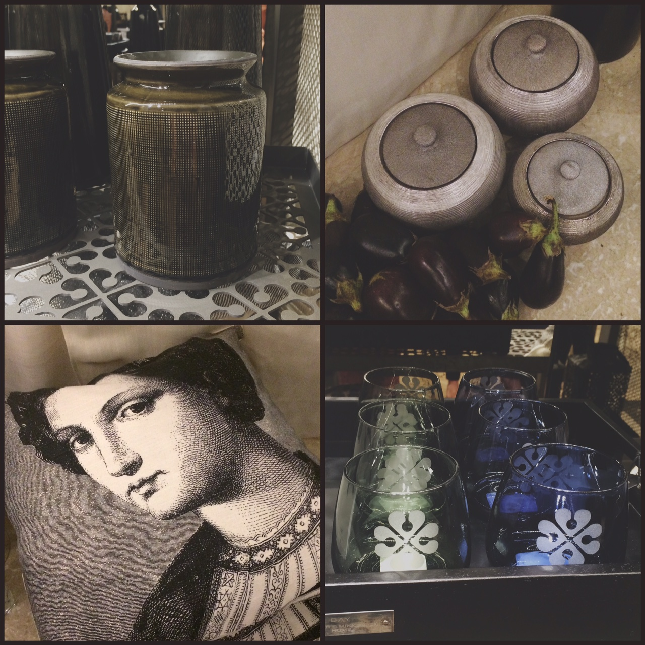 6af20f2dd0f1 Some of the decor items available at the store – I have my eye on the green  ceramic container