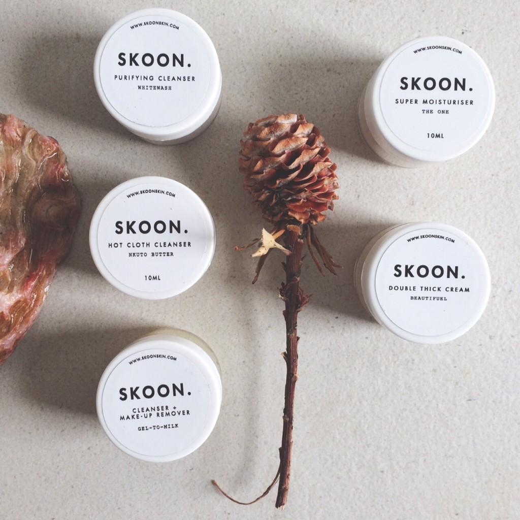 skoon cleanser & moisturize