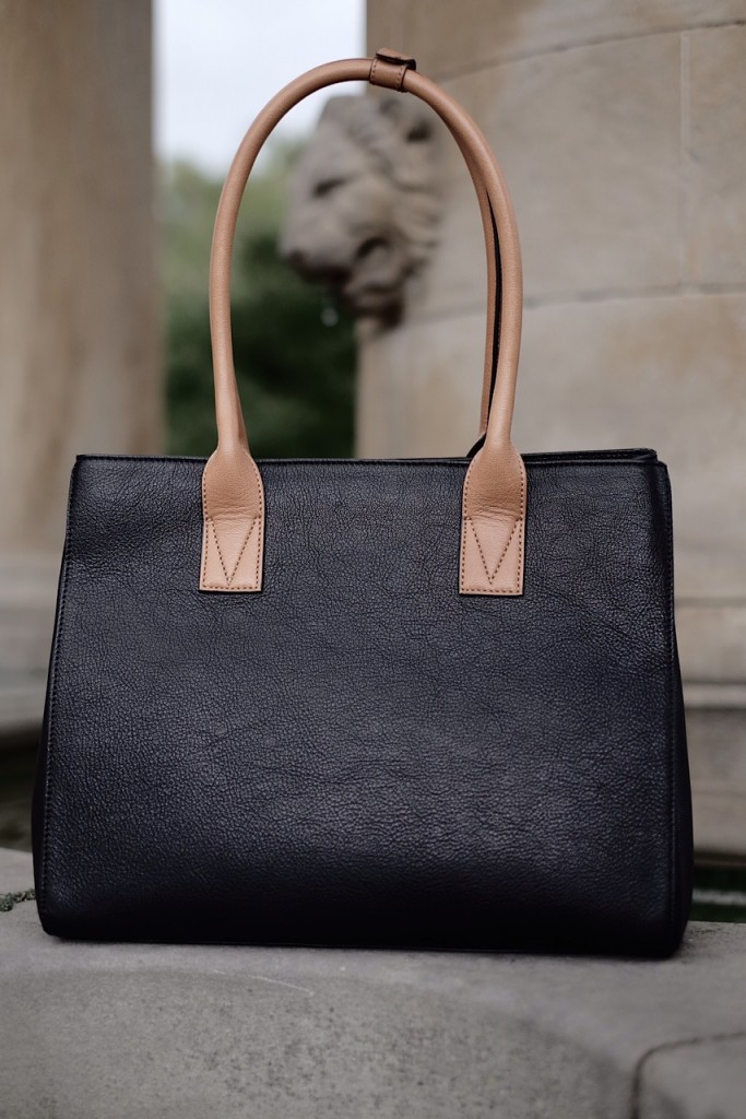 Brown strap bag 1