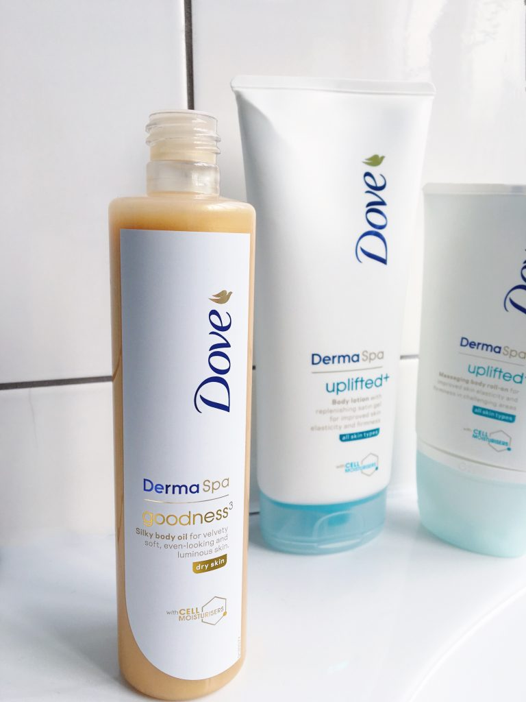 DermaSpa Goodness silky body oil