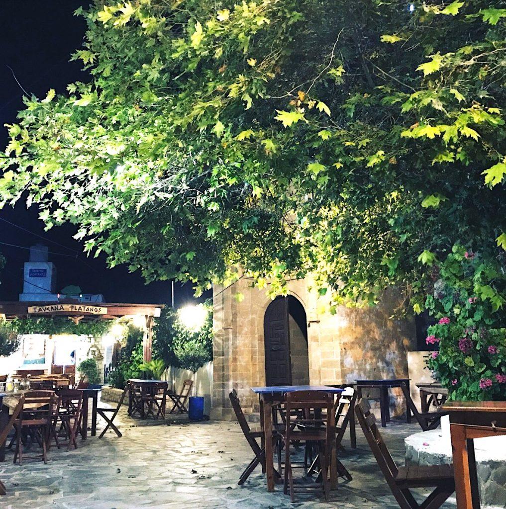 Platanos Taverna Greece