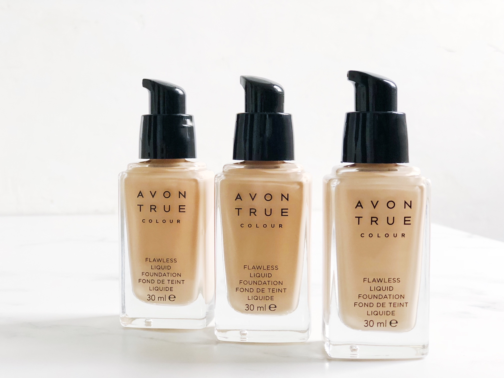 Perfect Coverage With Avon True Colour Flawless Liquid Foundation
